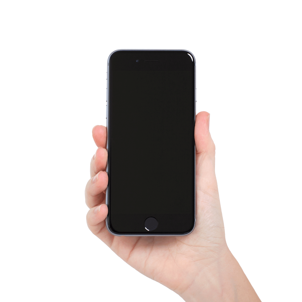 iphone layar hitam tetapi loading
