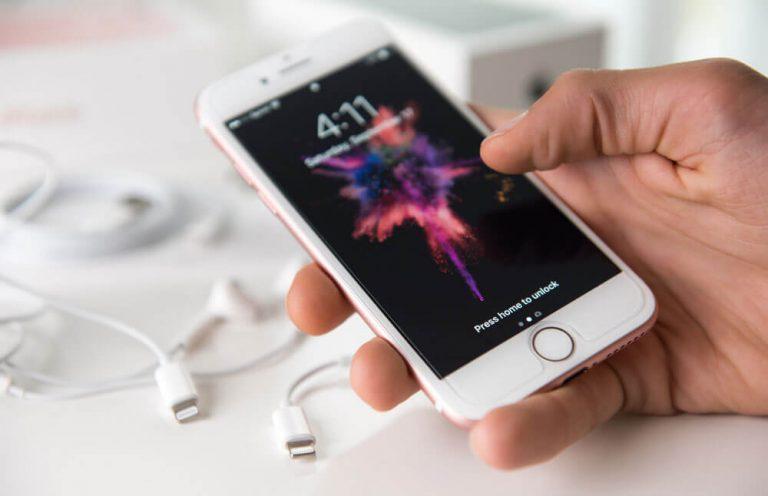 cara kalibrasi layar iphone