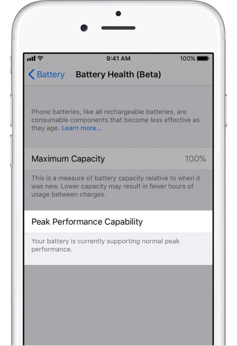 cara cek kesehatan baterai iphone