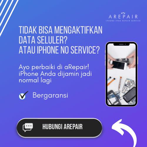 solusi untuk iphone no service
