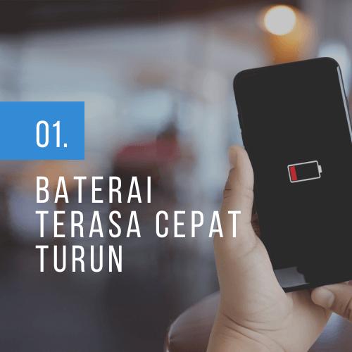 baterai iphone cepat drop