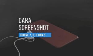 cara screenshot iphone 7